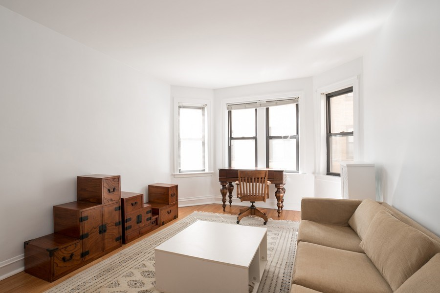 Real Estate Photography - 2842 n Francisco #1b, Chicago, IL, 60618 - Family Room