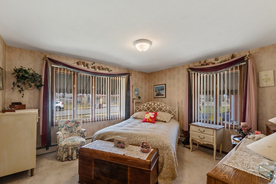 Real Estate Photography - 422 Miller Street, Beecher, IL, 60401 - Master Bedroom