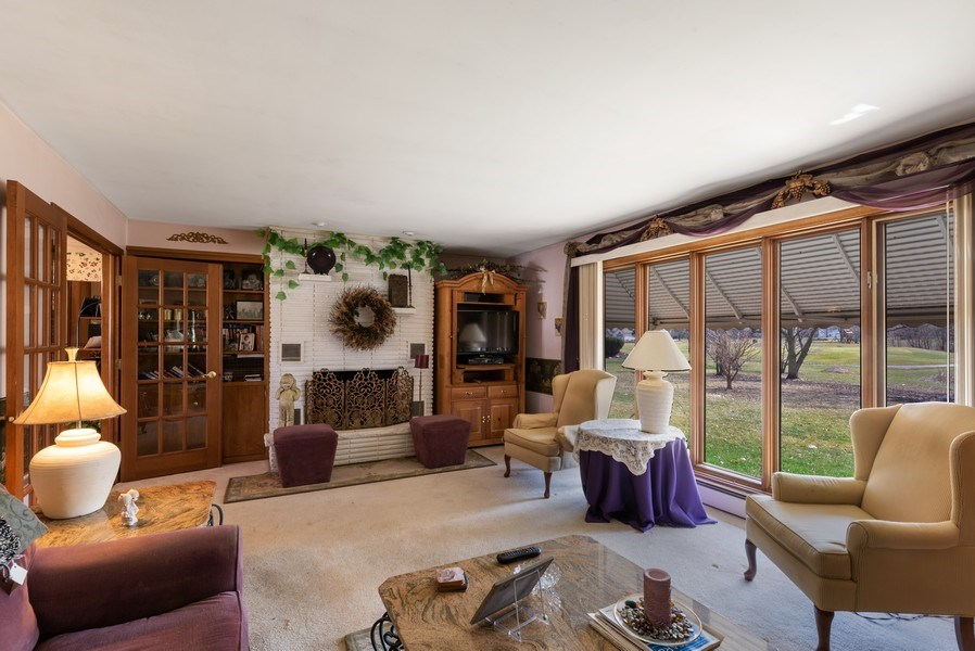 Real Estate Photography - 422 Miller Street, Beecher, IL, 60401 - Family Room