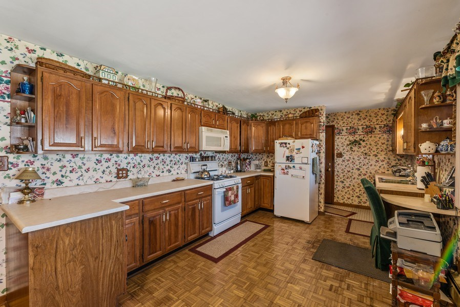 Real Estate Photography - 422 Miller Street, Beecher, IL, 60401 - Kitchen