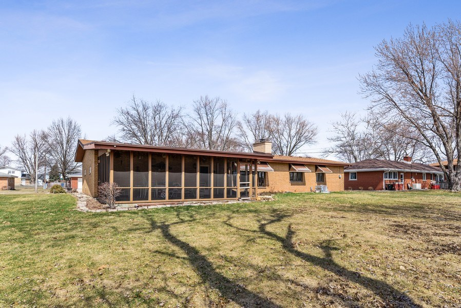 Real Estate Photography - 422 Miller Street, Beecher, IL, 60401 - Rear View