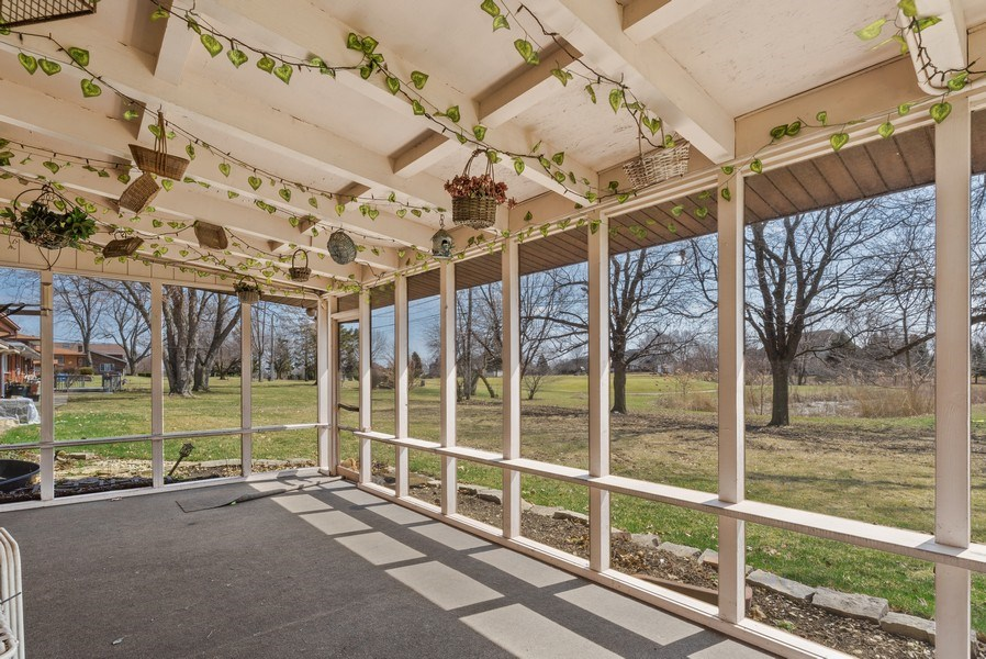 Real Estate Photography - 422 Miller Street, Beecher, IL, 60401 - Porch