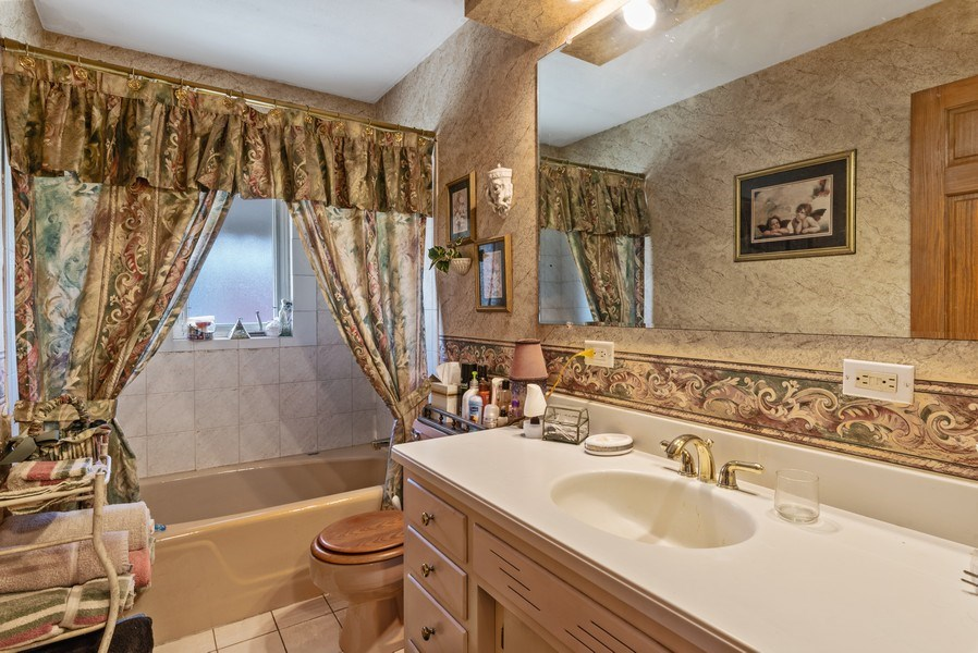 Real Estate Photography - 422 Miller Street, Beecher, IL, 60401 - Bathroom
