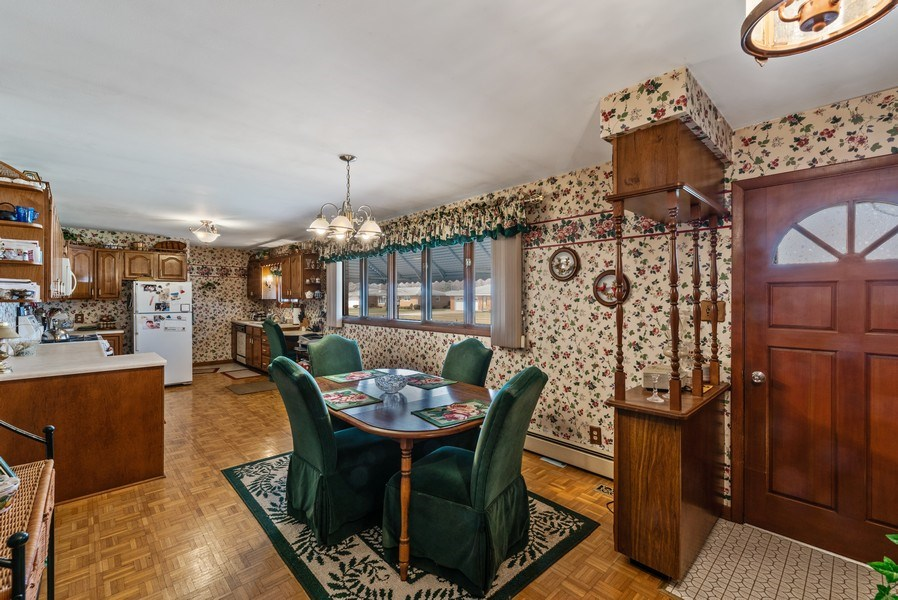 Real Estate Photography - 422 Miller Street, Beecher, IL, 60401 - Kitchen / Dining Room
