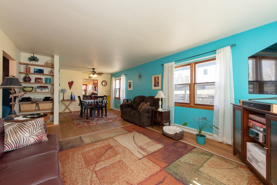Real Estate Photography - 820 Minerva Street, Horicon, WI, 53032 - Living Room / Dining Room