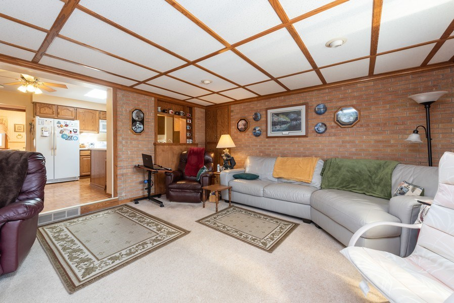 Real Estate Photography - 225 Wisconsin Street, Mayville, WI, 53050 - Family Room