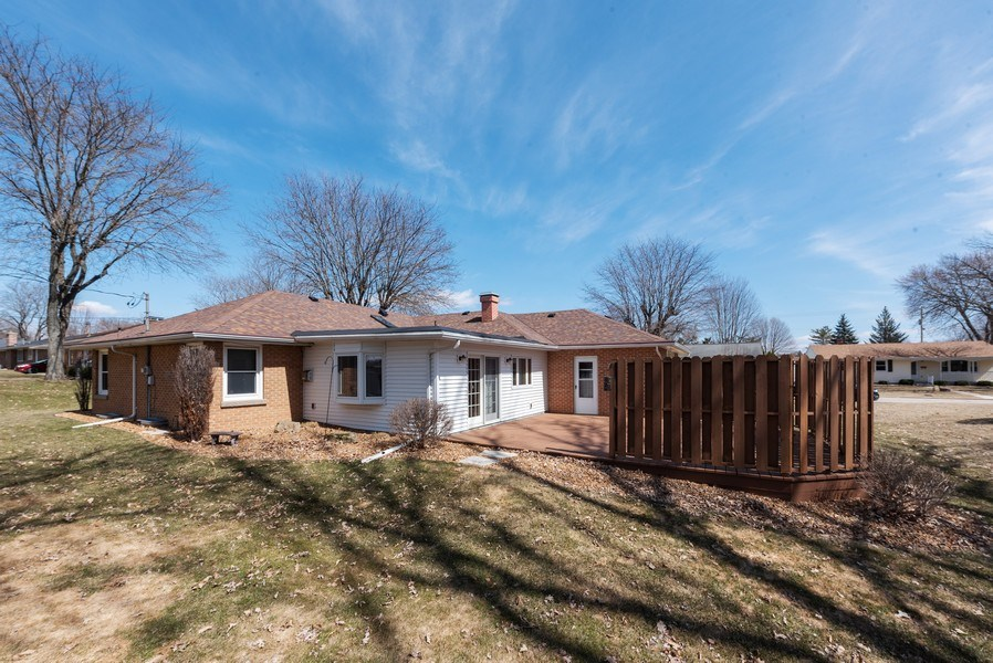 Real Estate Photography - 225 Wisconsin Street, Mayville, WI, 53050 - Rear View