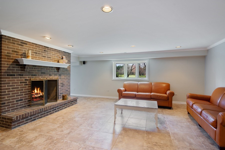 Real Estate Photography - 1 Bow Lane, Barrington Hills, IL, 60010 - Media Room