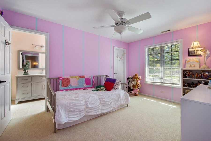Real Estate Photography - 1 Bow Lane, Barrington Hills, IL, 60010 - 4th Bedroom