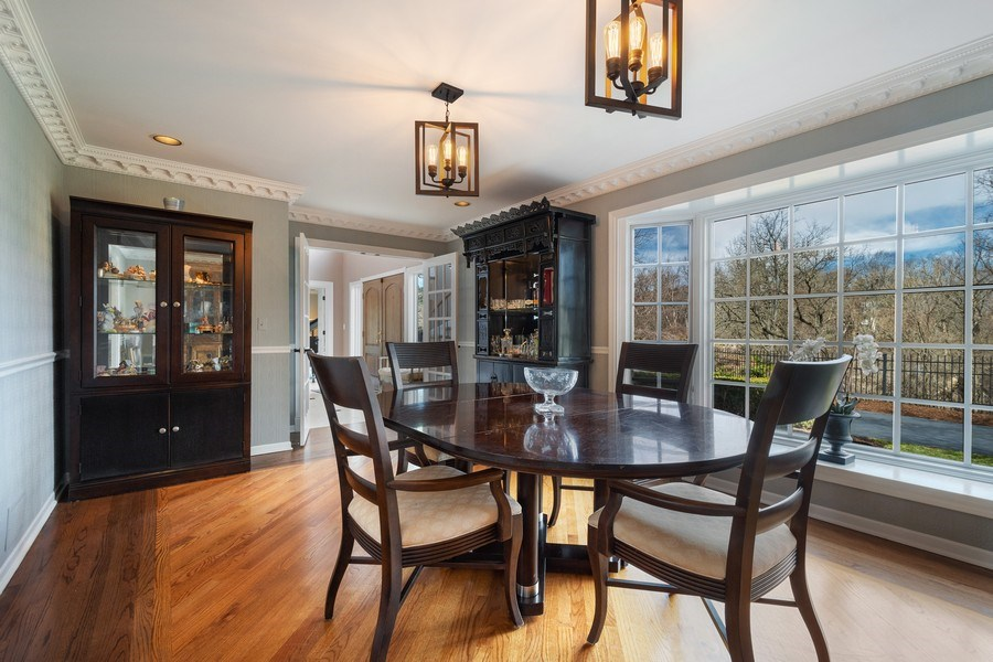 Real Estate Photography - 1 Bow Lane, Barrington Hills, IL, 60010 - Dining Room