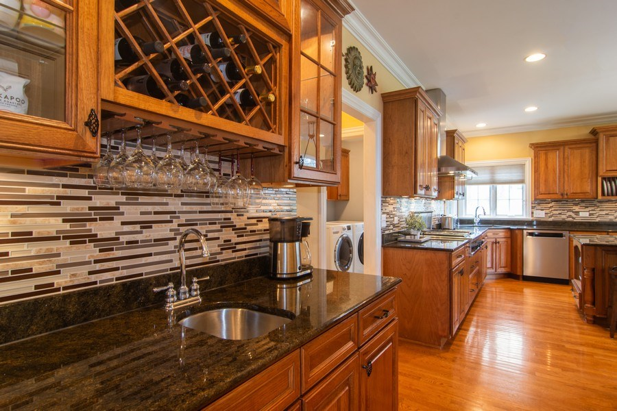 Real Estate Photography - 24815 Wildberry Bend, Cary, IL, 60013 - Butlers Pantry