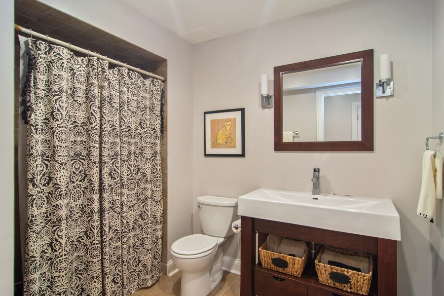 Real Estate Photography - 24815 Wildberry Bend, Cary, IL, 60013 - Lower Level Full Bath