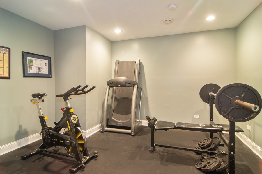 Real Estate Photography - 24815 Wildberry Bend, Cary, IL, 60013 - Exercise Room