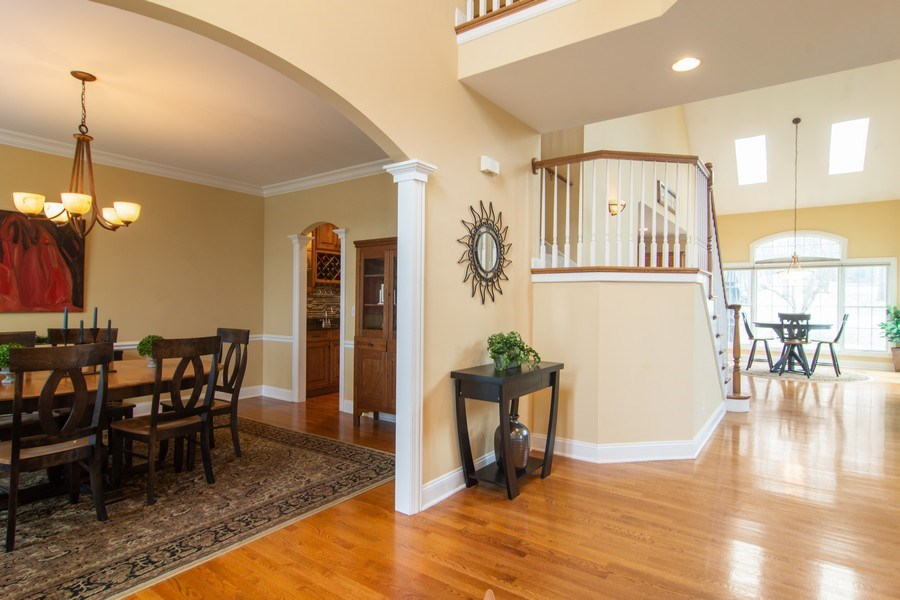 Real Estate Photography - 24815 Wildberry Bend, Cary, IL, 60013 - Foyer