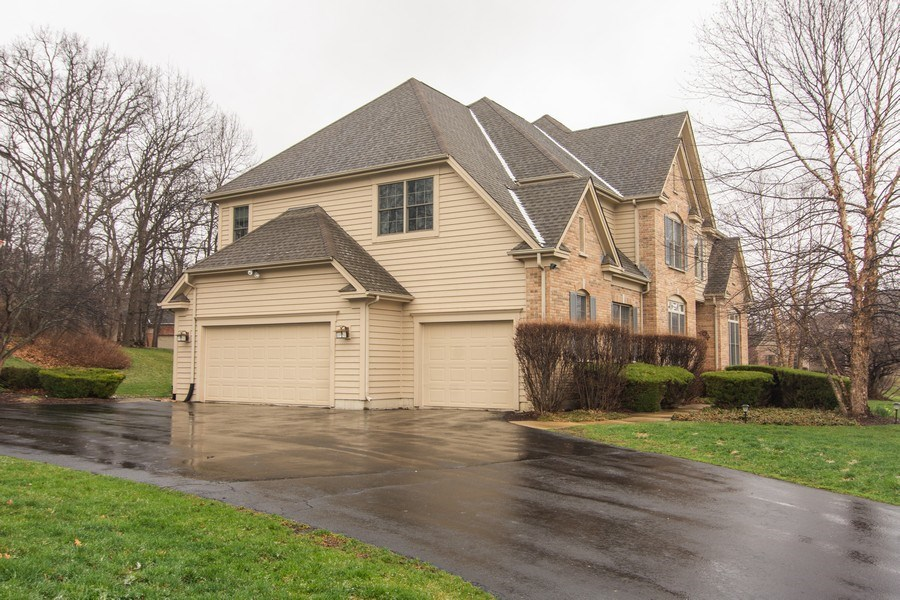 Real Estate Photography - 24815 Wildberry Bend, Cary, IL, 60013 - 3 Car Garage