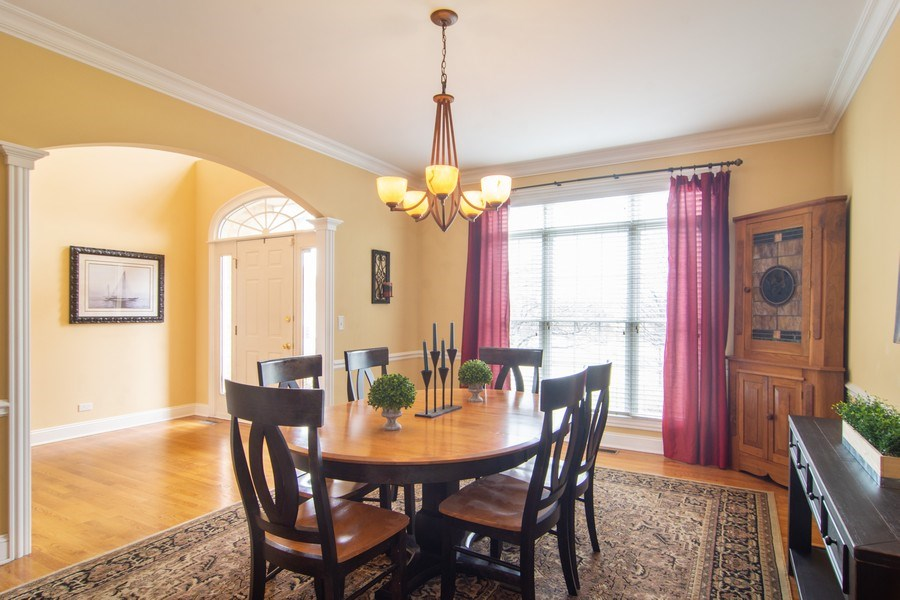 Real Estate Photography - 24815 Wildberry Bend, Cary, IL, 60013 - Dining Room