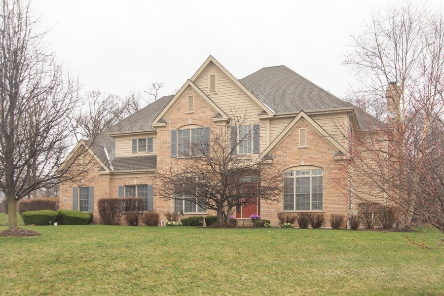 Real Estate Photography - 24815 Wildberry Bend, Cary, IL, 60013 - Front View