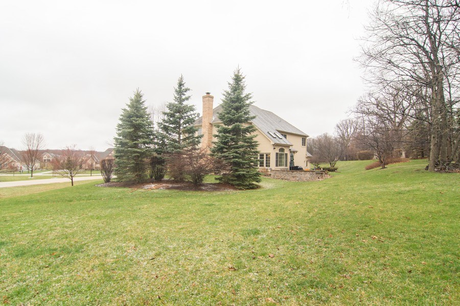 Real Estate Photography - 24815 Wildberry Bend, Cary, IL, 60013 - 1+ Acre Lot