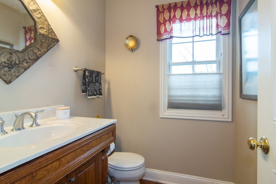 Real Estate Photography - 24815 Wildberry Bend, Cary, IL, 60013 - 1st Floor Powder Room