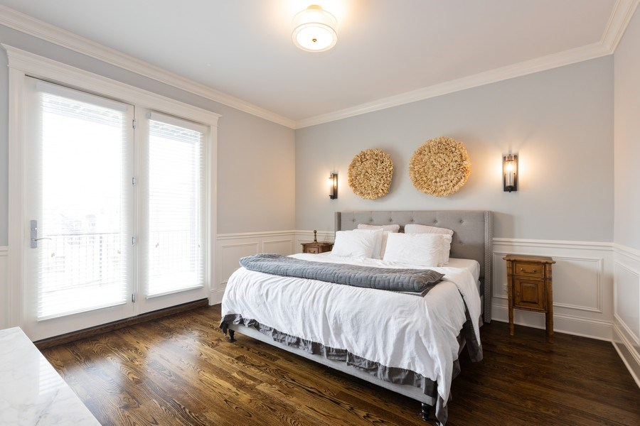 Real Estate Photography - 3410 N Halsted, Chicago, IL, 60657 - Master Bedroom