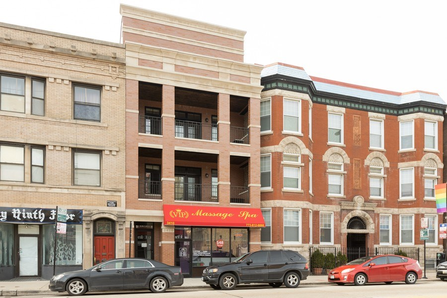 Real Estate Photography - 3410 N Halsted, Chicago, IL, 60657 - Front View