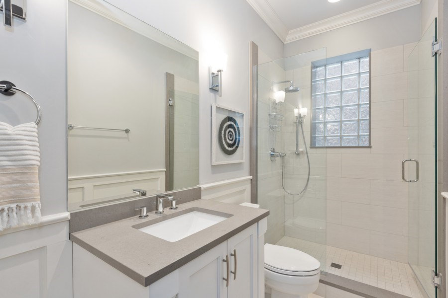 Real Estate Photography - 3410 N Halsted, Chicago, IL, 60657 - Bathroom