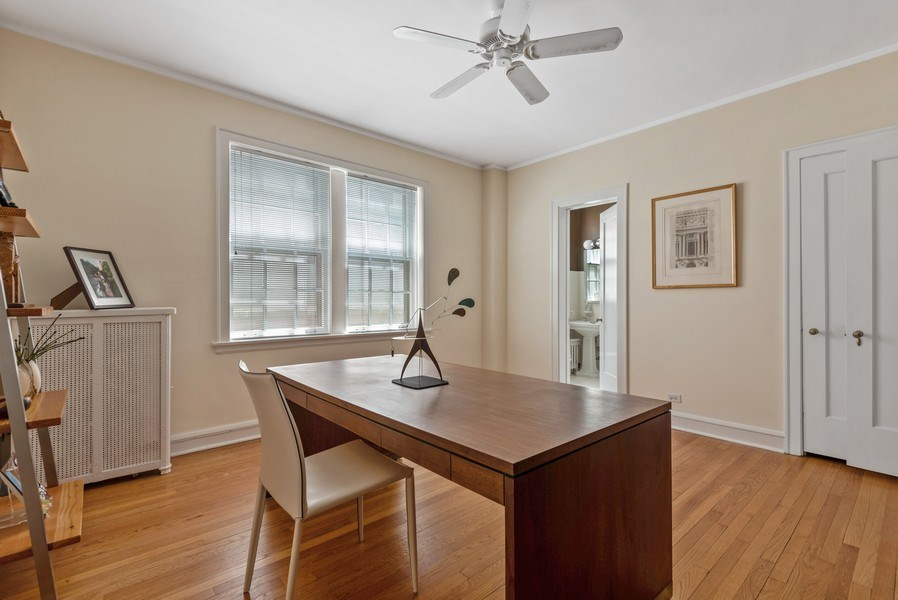 Real Estate Photography - 1426 Chicago Avenue, 2-South, Evanston, IL, 60201 - Bedroom 2 / Office