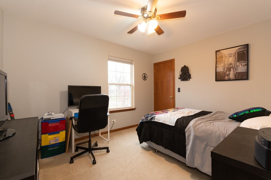 Real Estate Photography - 2909 Savannah, Aurora, IL, 60502 - 2nd Bedroom