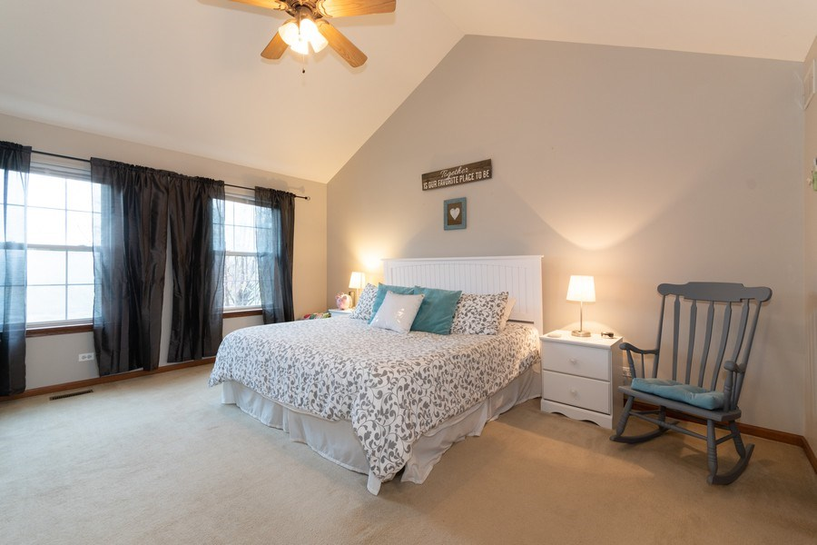 Real Estate Photography - 2909 Savannah, Aurora, IL, 60502 - Master Bedroom