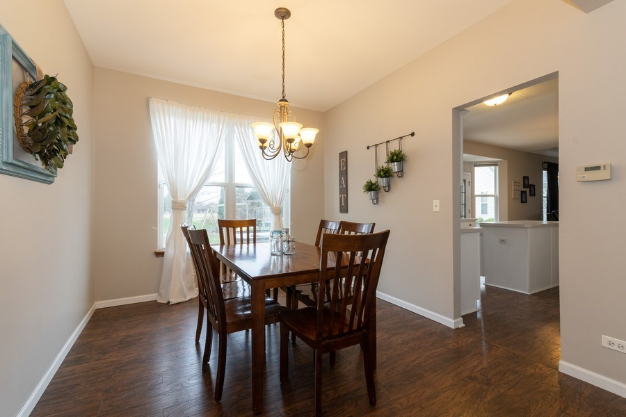 Real Estate Photography - 2909 Savannah, Aurora, IL, 60502 - Dining Room