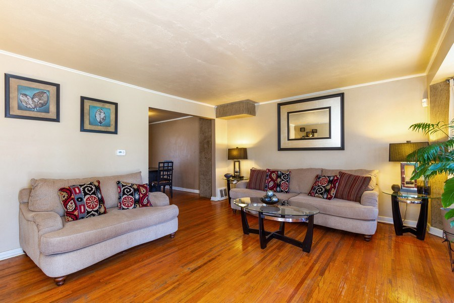 Real Estate Photography - 1008 S Rose St, Chicago, IL, 60656 - Living Room
