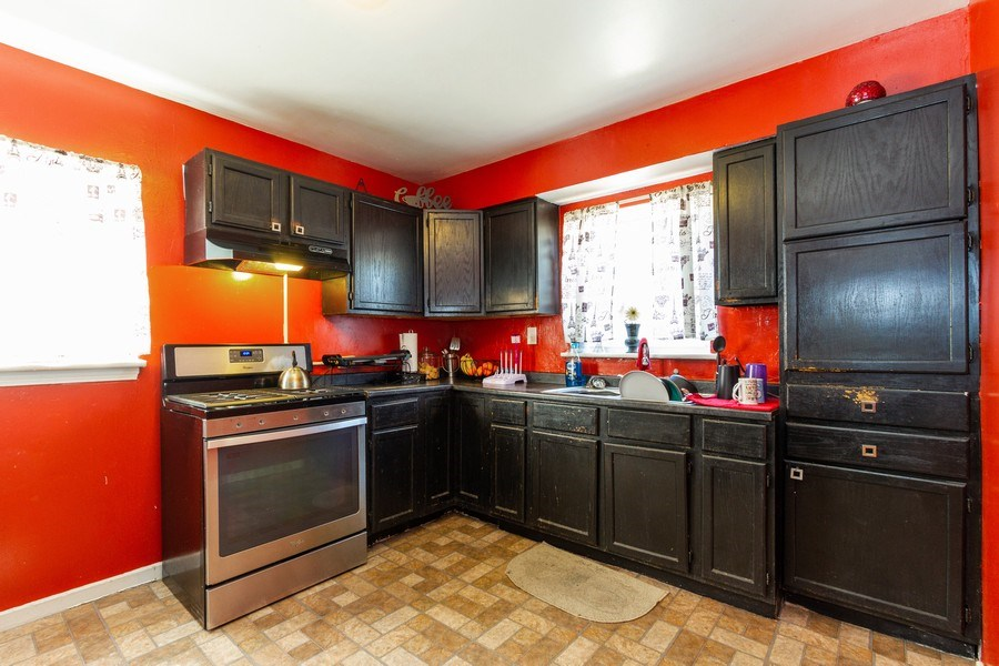 Real Estate Photography - 1008 S Rose St, Chicago, IL, 60656 - Kitchen