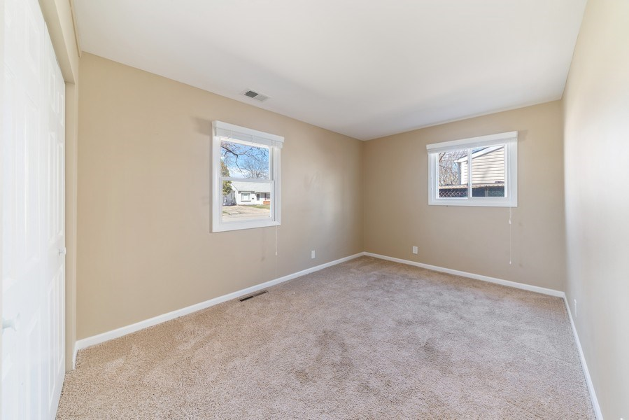 Real Estate Photography - 619 Lincolnwood Dr, Streamwood, IL, 60107 - 3rd Bedroom