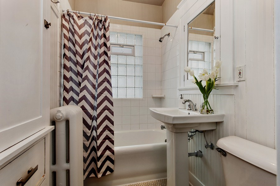 Real Estate Photography - 1912 E Lake Bluff Boulevard, Shorewood, WI, 53211 - Bathroom