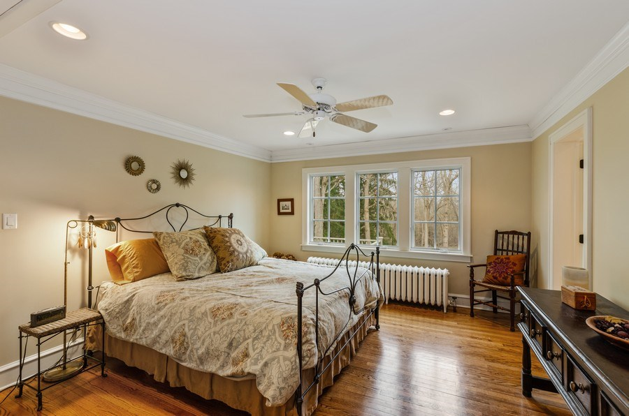 Real Estate Photography - 1360 Ridge Rd, Highland Park, IL, 60035 - Master Bedroom