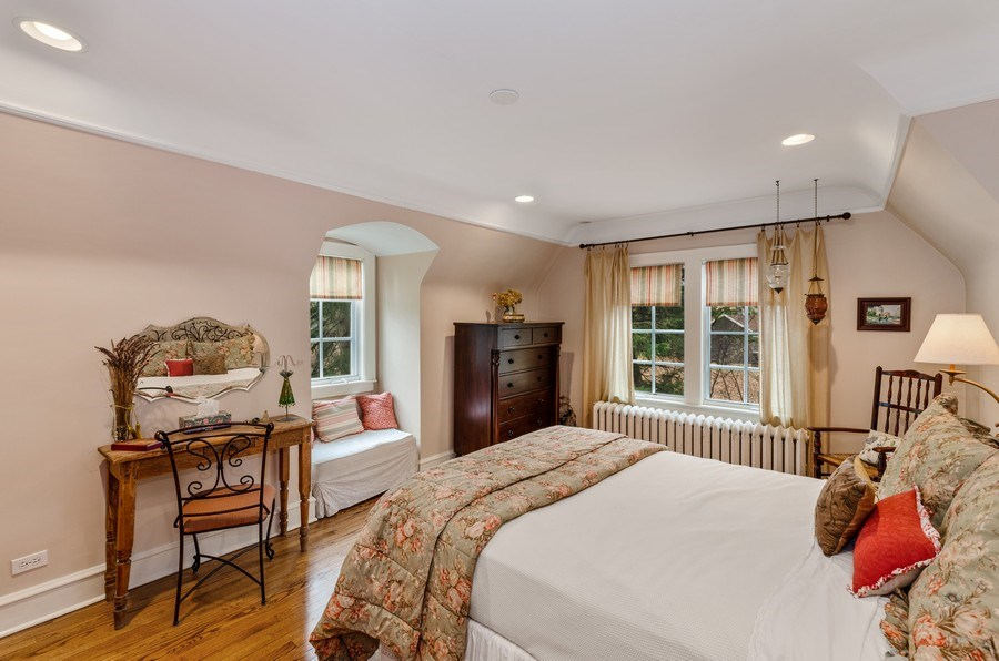 Real Estate Photography - 1360 Ridge Rd, Highland Park, IL, 60035 - Bedroom