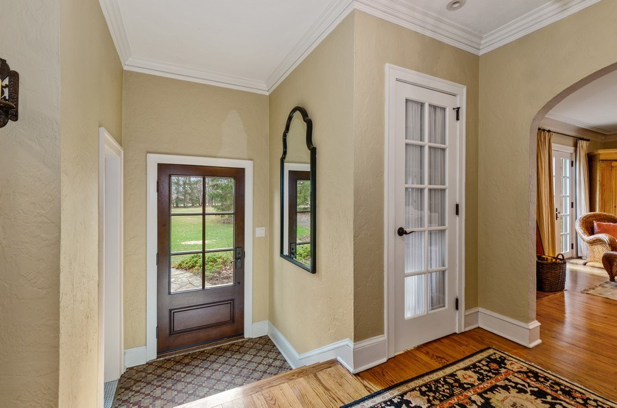 Real Estate Photography - 1360 Ridge Rd, Highland Park, IL, 60035 - Foyer