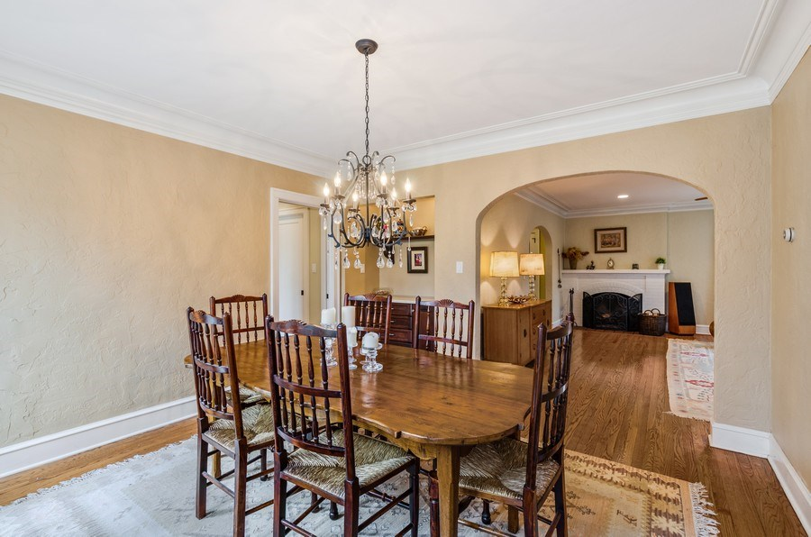 Real Estate Photography - 1360 Ridge Rd, Highland Park, IL, 60035 - Dining Room