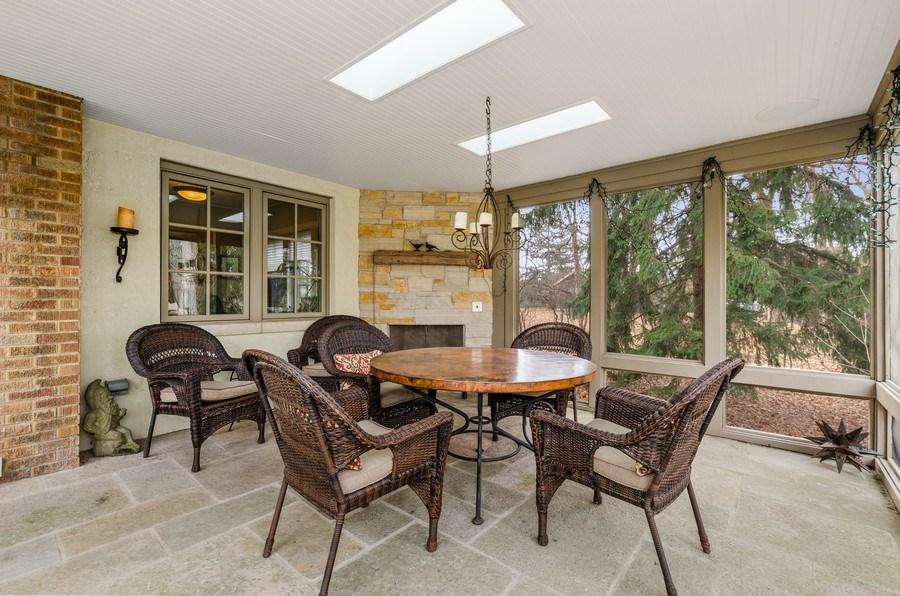 Real Estate Photography - 1360 Ridge Rd, Highland Park, IL, 60035 - Porch