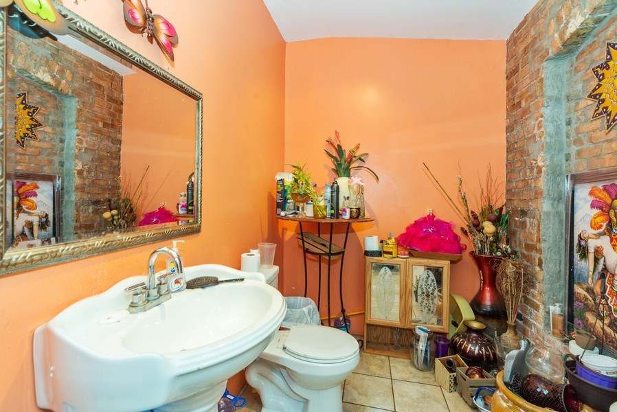Real Estate Photography - 5949 W Fullerton, Chicago, IL, 60639 - Bathroom
