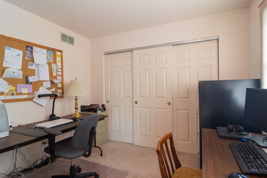 Real Estate Photography - 1913 N Brighton Pl, Arlington Heights, IL, 60004 - Office / Sitting Area / Possible 4th Bedroom