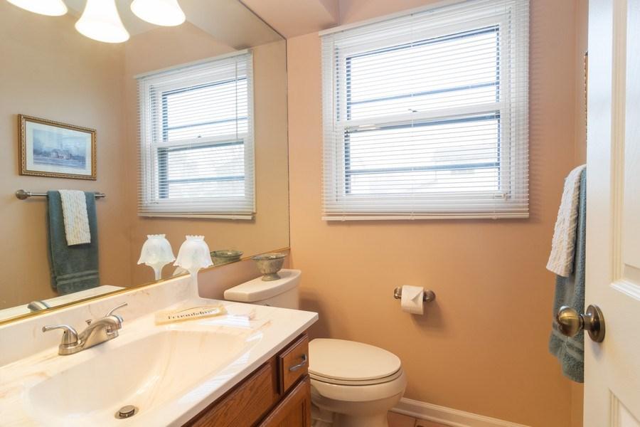 Real Estate Photography - 1913 N Brighton Pl, Arlington Heights, IL, 60004 - Half Bathroom