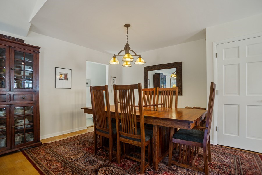 Real Estate Photography - 417 N Rose, Park Ridge, IL, 60068 - Dining Room