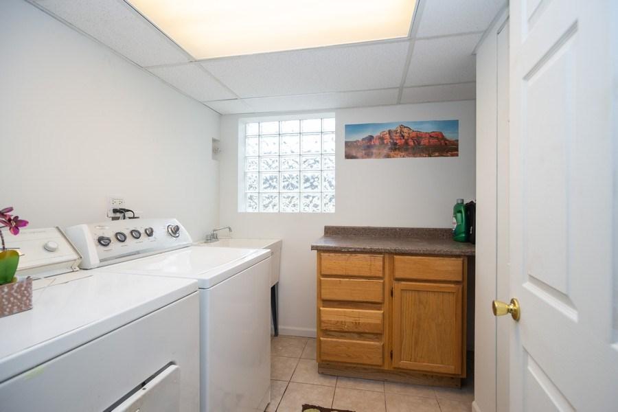 Real Estate Photography - 1914 Nimitz Drive, Des Plaines, IL, 60018 - Laundry Room