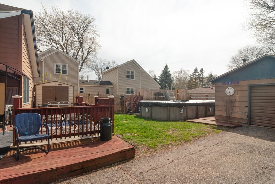 Real Estate Photography - 315 S Harrison St, Batavia, IL, 60510 - Back Yard