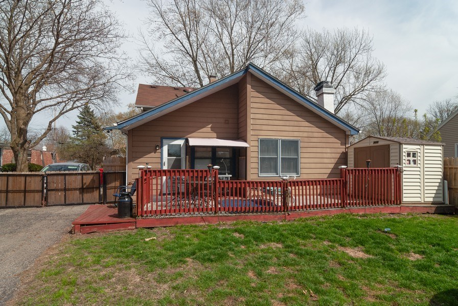 Real Estate Photography - 315 S Harrison St, Batavia, IL, 60510 - Rear View