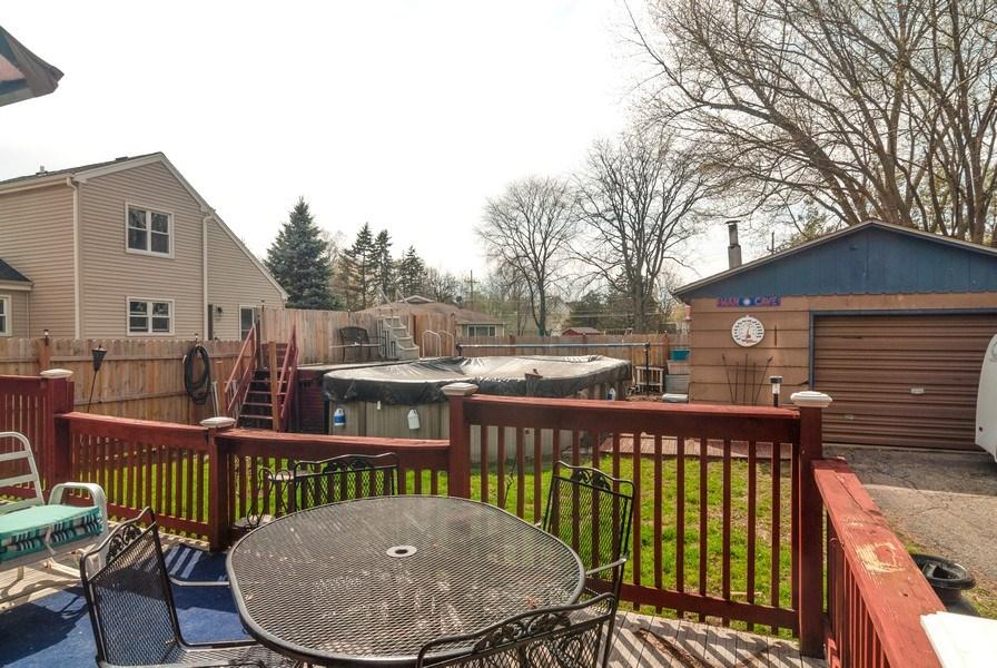 Real Estate Photography - 315 S Harrison St, Batavia, IL, 60510 - Deck