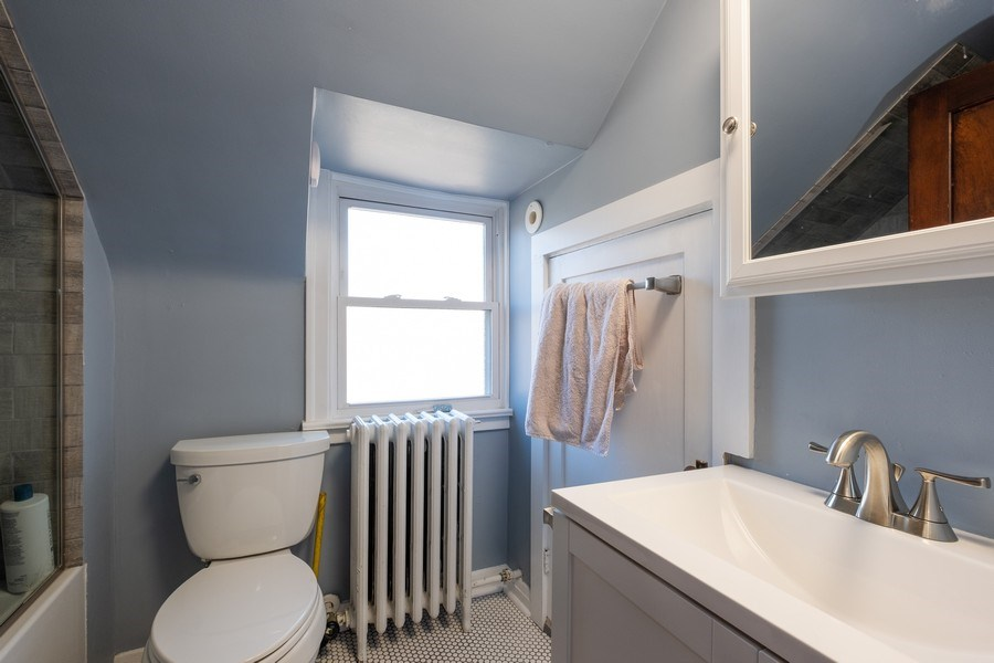 Real Estate Photography - 833 Lincoln St, Evanston, IL, 60201 - 3rd Bathroom