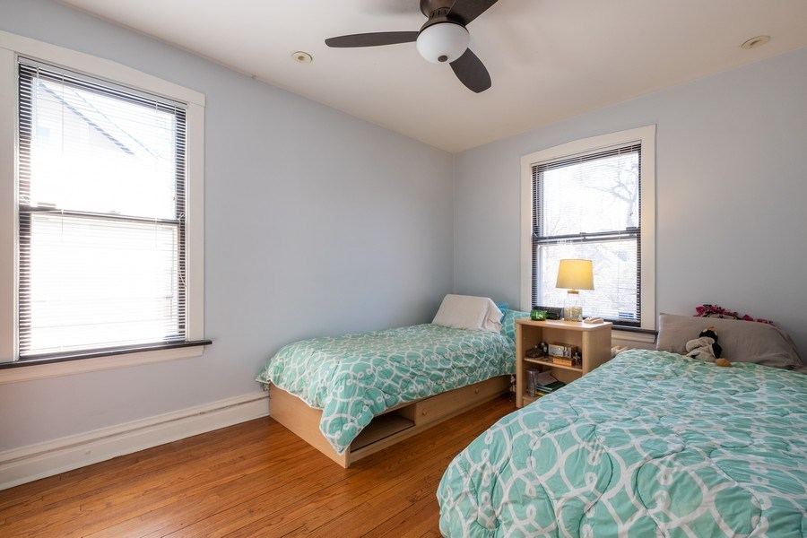 Real Estate Photography - 833 Lincoln St, Evanston, IL, 60201 - 2nd Bedroom