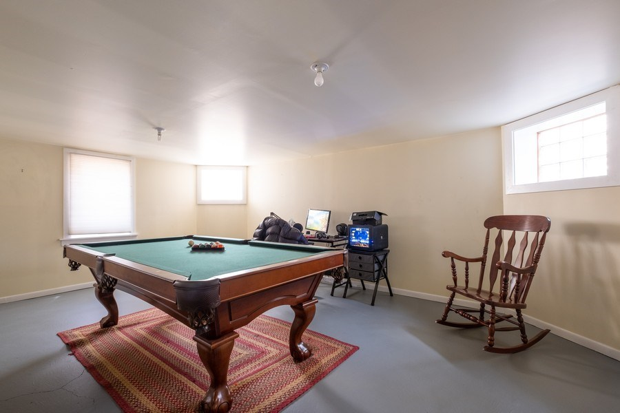 Real Estate Photography - 833 Lincoln St, Evanston, IL, 60201 - Recreational Room
